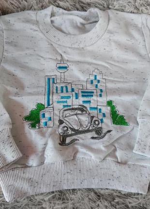 "Детская кофта, реглан, 92-116рр., тм ""бома"""