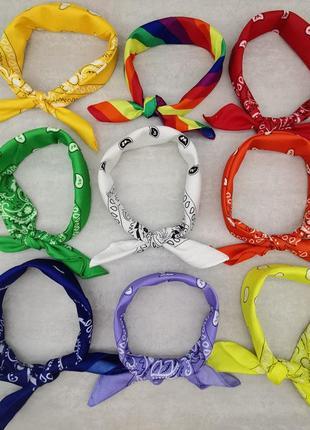 Бандана повязка на голову платок