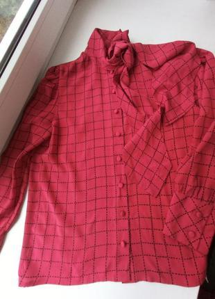 Шелковая блуза, винтаж
