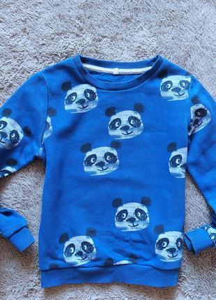Свитшот в панды для мальчика