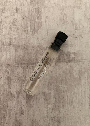 Пробник унисекс аромата atelier cologne pacific lime