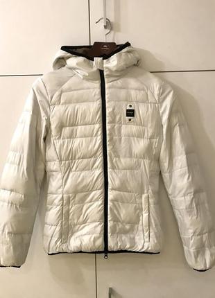 Женская демисезонная куртка с капюшоном blauer usa xs-s