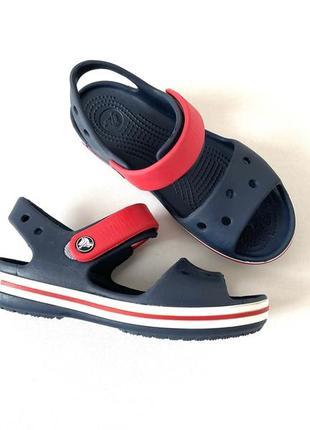 Crocs crocband сандали босоножки на мальчика c13 оригинал