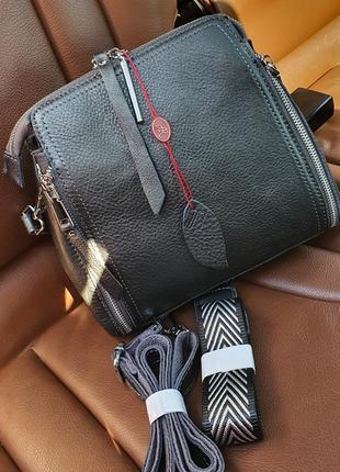 Жіноча шкіряна компактна сумочка-клатч alex rai