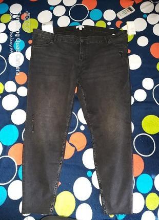Джинсы большого размера  h&m+ skinny regular jeans