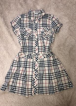 Сукня принт барбері