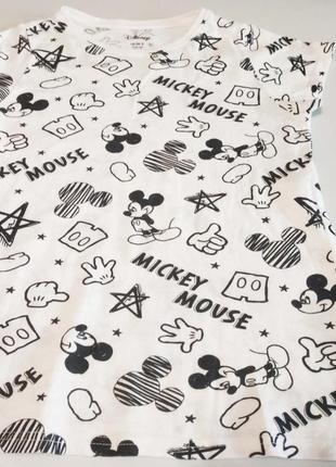 Красивая футболка  disney на ребёнка 10-16 лет, 36 размер