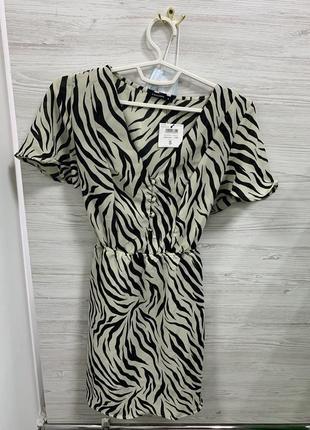 Платье зебра в продаже 24 часа !!!!