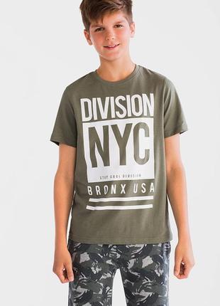 Хлопковая футболка c&a для мальчика 146/152