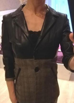 Куртка кожаная, пиджак