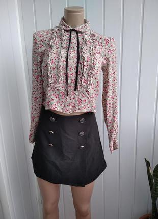 Укороченная блуза asos