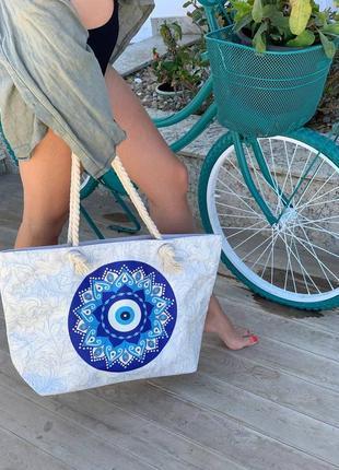 ❤мега стильные котоновые пляжные сумки
