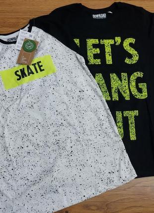Набор фирменных качественных хлопковых футболок c&a для мальчика