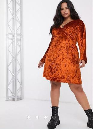 Новое бархатное платье плюс сайз очень красивое и удобное тренд 2021