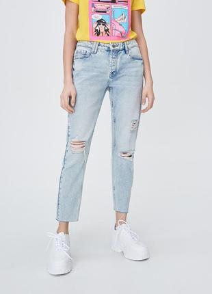 Sinsay бойфренды джинсы mom, 36, 38 размер