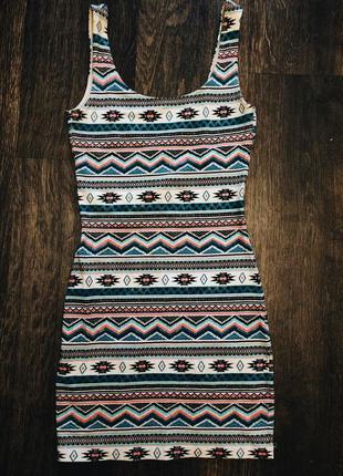 Платье в обтяжку от pull&bear