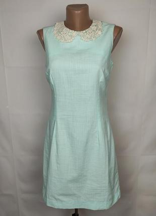 Платье мини красивое легкое uk 10/38/s