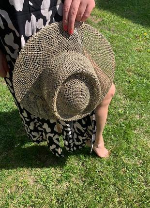 🔥🔥мега стильные соломенные шляпы солнцезащитные