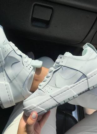 Крутые женские белые кроссовки, топ качество