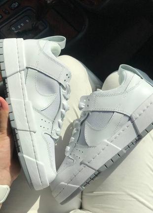 Крутые женские белые кроссовки, топ качество3 фото
