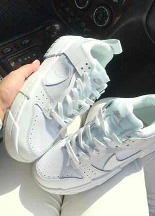 Крутые женские белые кроссовки, топ качество4 фото