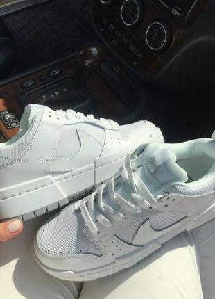 Крутые женские белые кроссовки, топ качество5 фото