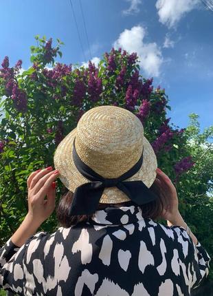❤мега стильные соломенные шляпы канотье