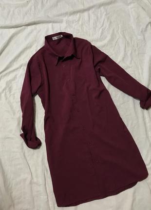 Платье-рубашка fashion