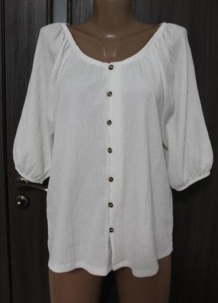 Блузка f&f в идеальном состоянии 2хl
