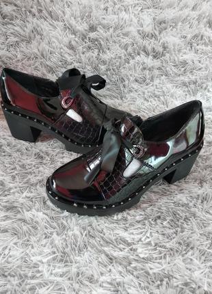 Женские туфли, 36-41рр., маломерят2 фото