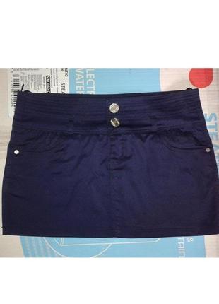 Юбка короткая джинсовая  бренд  pop elit
