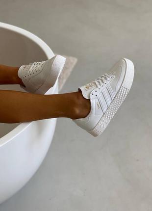 Женские демисезонные спортивные кроссовки кеды adidas samba