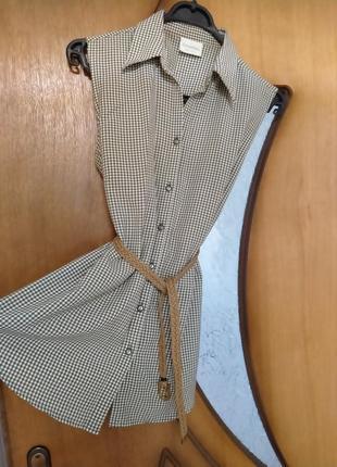 Платье, сарафан, блузка, туника, рубашка,лен