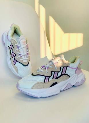 Кросівки спортивні жіночі ad!das ozweego light purple