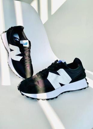 Кроссовки спортивные женские new balance 327 black