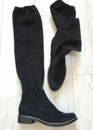 Фирменные стильные сапоги чулки от caprice 39 р