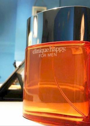 Clinique happy for men оригинал_eau de toilette 5 мл затест распив отливанты