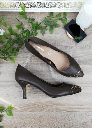 🌿38🌿европа🇪🇺 moow. базовые фирменные туфли лодочки
