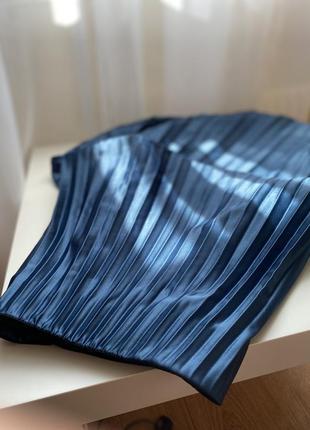 Плиссированная юбка zara