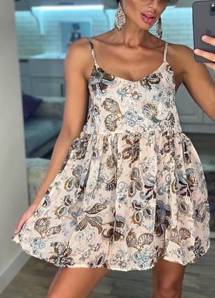 Платье летнее короткое