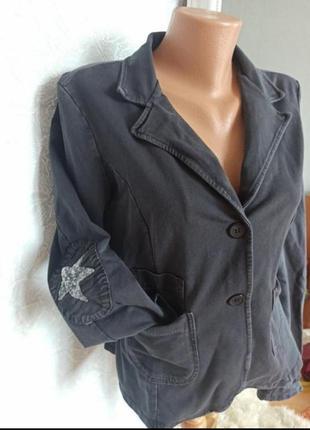 Пиджак шикарный в пайетку