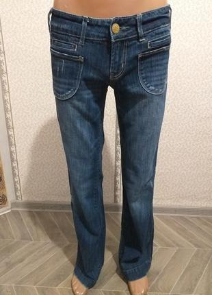 Стрейчевые  женские,  джинсы, клёш. (5697)