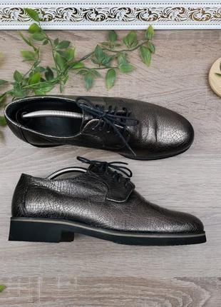 🌿38🌿европа🇪🇺 navyboot. кожа. классные фирменные туфли, оксфорды