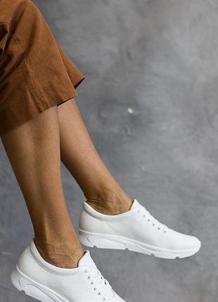 Кроссовки натуральная кожа3 фото