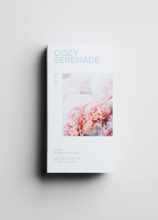 🌿zara cozy serenade 🌿 100 ml оригінал іспанія