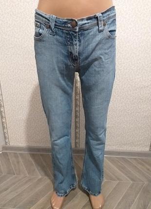 Стрейчевые, женские, джинсы, клёш. (5698)