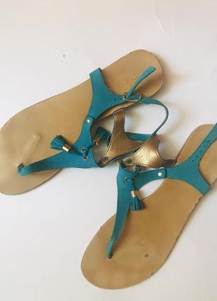 Кожаные босоножки/сандали/вьетнамки maddison 😍