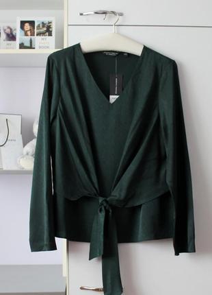 Новая изумрудная блуза от dorothy perkins