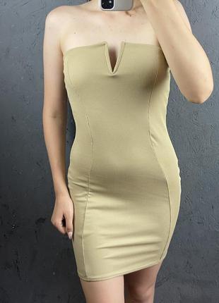 Новое платье без лямок