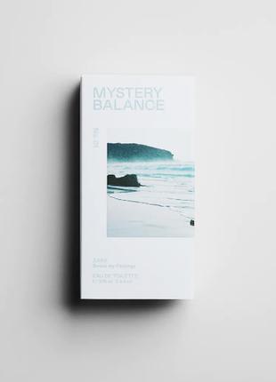 🌿 zara mystery balance 🌿 100 ml оригінал іспанія